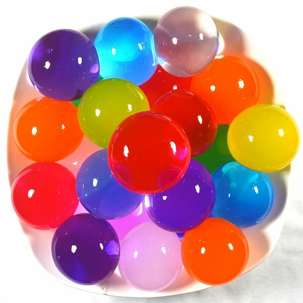 60pcs Crystal Soil Large Big Water Beads Gel Ball Mixed Color Plant Wedding Vase 401033996939