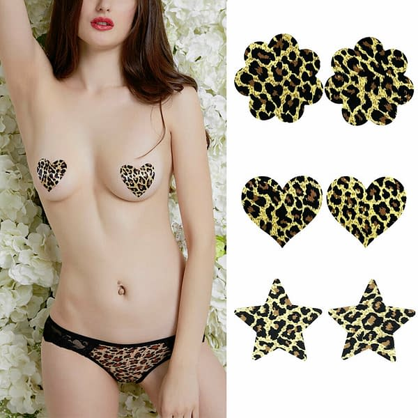 Variation of Self Adhesive Satin Breast Nipple Cover Bra Tape Pads Pasties Enhancer Stickers 402012240246 d474