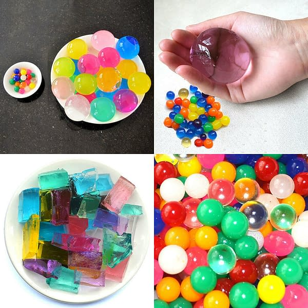 Large Crystal Soil Water Beads Jelly Gel Balls Big Cube Home Party Vase Decor 401494919223