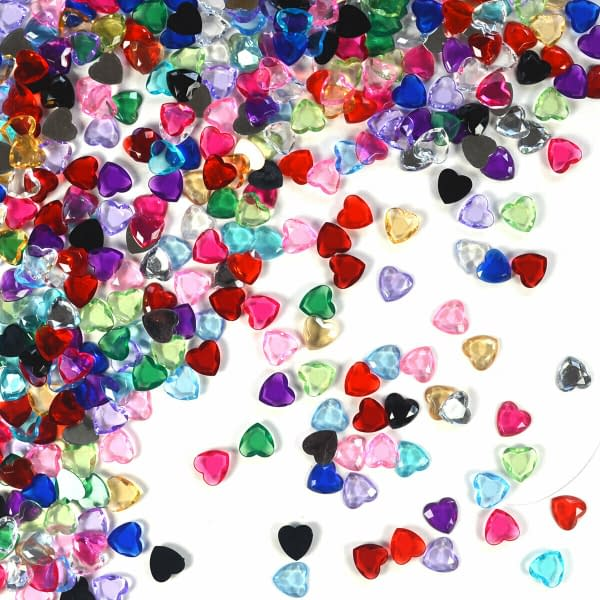 Variation of Heart Shape Crystal Diamond Confetti Table Scatters Home Wedding Party Craft 402396411667 a283