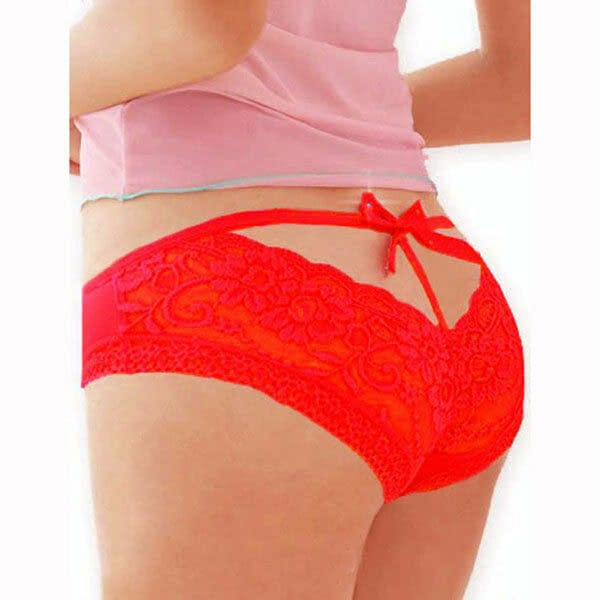 Variation of Ladies Bowknot Embroidered Sexy Lace Underwear Fashion Panties 7593 Size S to M 191308907669 e73f
