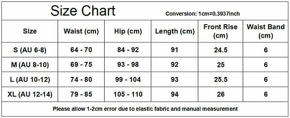 Womens Stretch Pocket Yoga Leggings Fitness Pants Sports Running Gym Trousers 174527544352 3