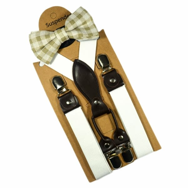 Variation of Children Kids Baby 4 Clips Suspenders Bow Tie Boys Girls Braces Party Wedding 193260074648 10a4