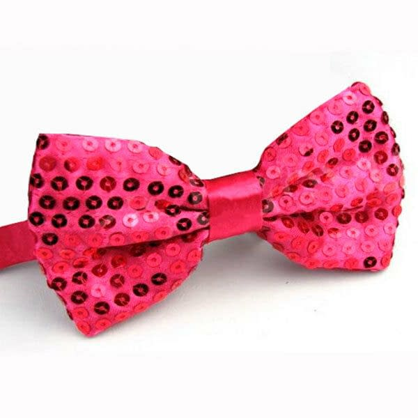 Variation of Glitter Sequin Clip on Bowtie Men039s Women Boys Girls Bow Tie Party Dance Costume 191523098872 be19