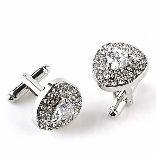 Variation of Mens Silver Plated Formal Party Shirt Cufflinks Stainless Novelty Gift Wedding 402394121646 b795