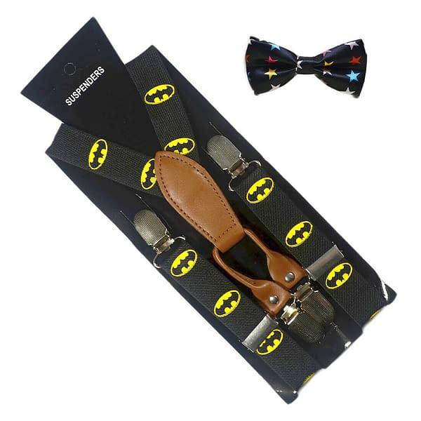Variation of Children Kids Fashion 4 Clips Elastic Suspenders Bow Tie Boys Girls Braces Party 401999589579 4451