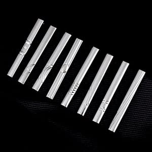 5.5cm Tie Clip Silver Stainless Steel