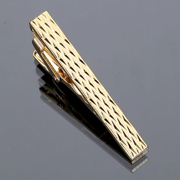 Variation of Men039s 45cm Gold Tie Pin Clip Bar Stainless Steel Clasp Skinny Necktie Wedding 194144527228 aa7a