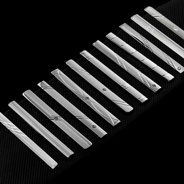 6cm Stainless Steel Tie Clip
