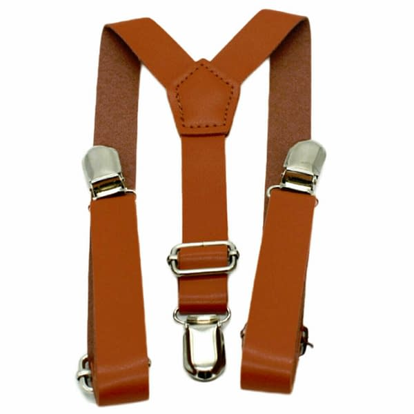 Children Kids Baby Faux Leather Suspenders Bows Boys Girls Braces Party Wedding 193260212804 3
