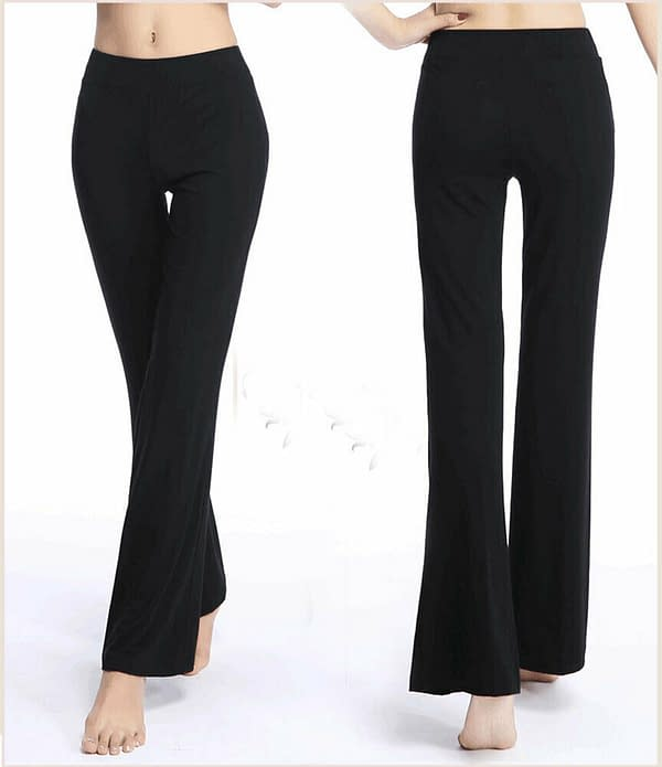 Variation of Women Modal Casual Gym Yoga Long Pants Sports Wide Loose Straight Leg Trousers 193757880649 2886