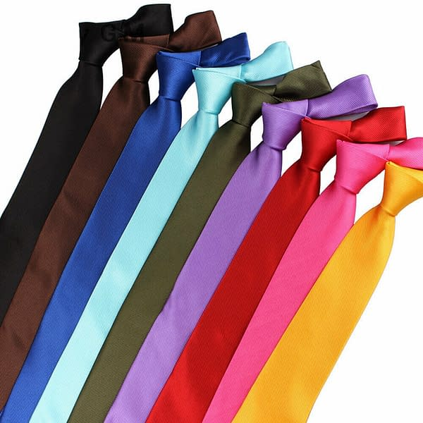 Mens Classic Striped Business Formal Woven Silk Ties Wedding Party Tie Neckties 191856265992 2